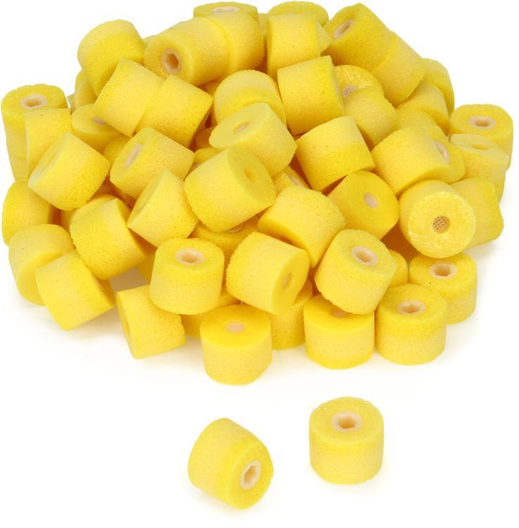 Shure EAYLF1 - Yellow Foam, Universal Fit, 50 pair image 1
