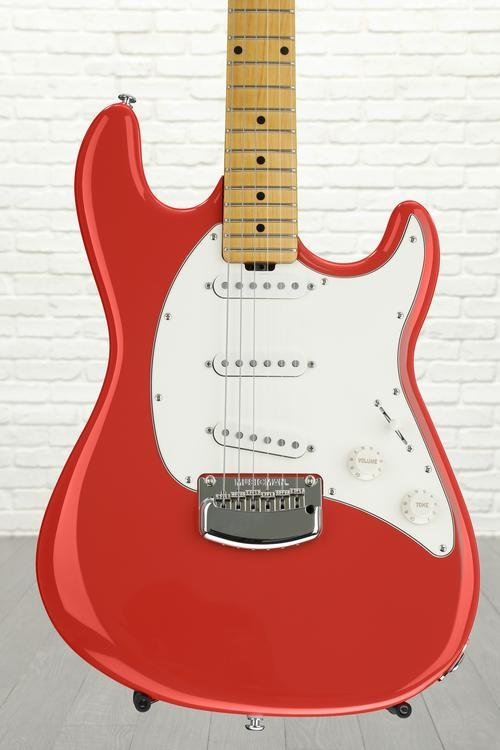 Ernie Ball Music Man Cutlass - Coral Red