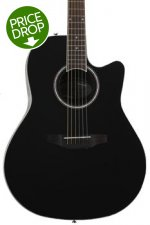 Ovation Applause AB24AII Balladeer, Mid-depth bowl - Black