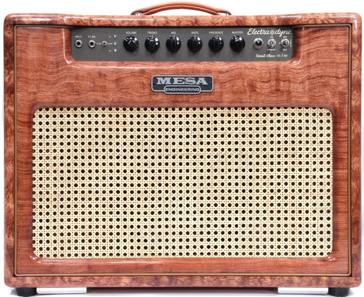 mesa boogie electra dyne 90 watt 1x12 combo quilted bubinga sweetwater. Black Bedroom Furniture Sets. Home Design Ideas