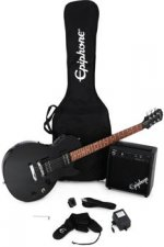 Epiphone Les Paul Player Pack - Ebony