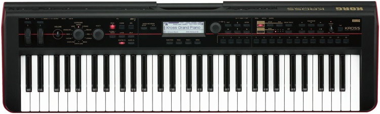 Korg Kross 61-key Synthesizer Workstation image 1