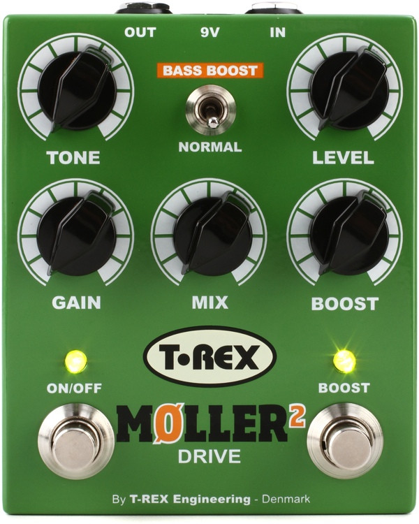 T-Rex Moller 2 Classic Overdrive Pedal with Clean Boost image 1