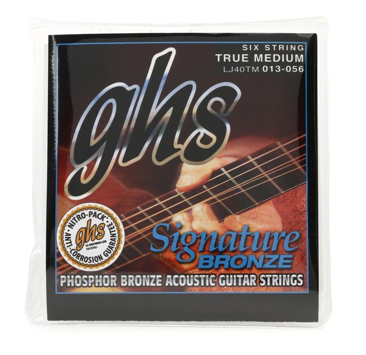 GHS LJ40TM Laurence Juber Signature Bronze Medium Acoustic Guitar Strings image 1