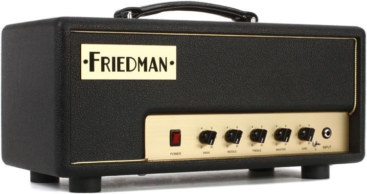 Friedman Pink Taco 20-watt 1-channel Tube Head image 1