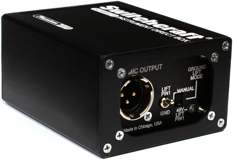 Switchcraft SC900CT 1-channel Passive Instrument Direct Box image 1