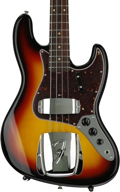 Fender American Vintage \'64 Jazz Bass - 3 Color Sunburst image 1