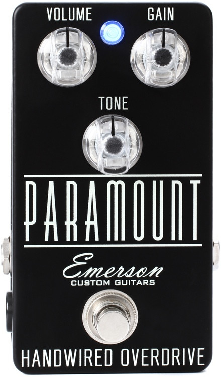 Emerson Custom Paramount Overdrive Pedal image 1