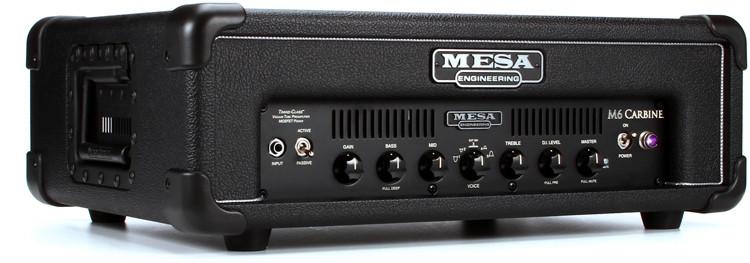 mesa boogie m6 carbine 600 watt bass head standard sweetwater. Black Bedroom Furniture Sets. Home Design Ideas