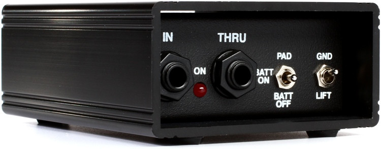 Whirlwind Hotbox 1-channel Active Instrument Direct Box image 1