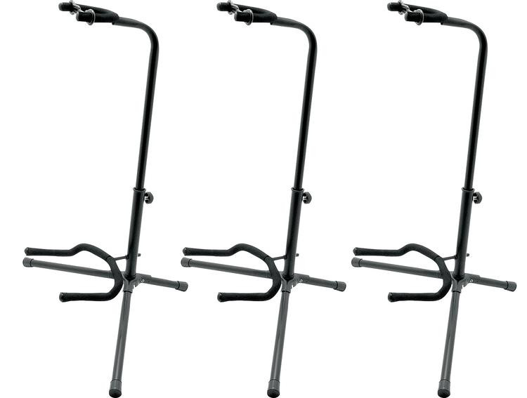 On-Stage Stands Classic Guitar Stand - Three Pack image 1