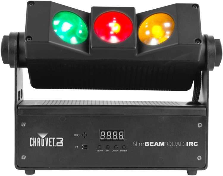 Chauvet DJ SlimBEAM Quad IRC LED RGBA Wash/Beam image 1