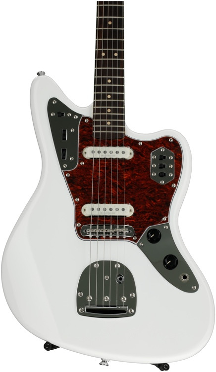 squier vintage modified jaguar olympic white sweetwater. Black Bedroom Furniture Sets. Home Design Ideas
