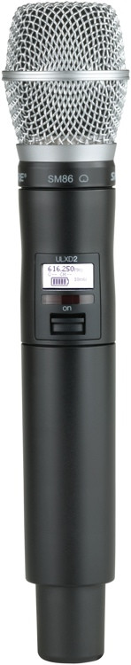 Shure ULXD2/SM86 - G50 Band image 1