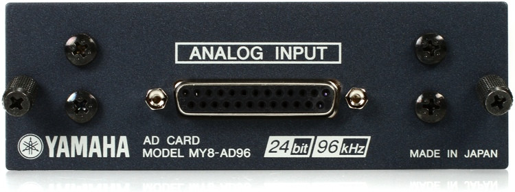 Yamaha MY8AD96 8-channel 96kHz Analog Input Card image 1