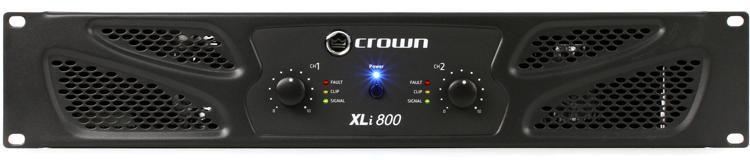 Crown XLi 800 Power Amplifier image 1