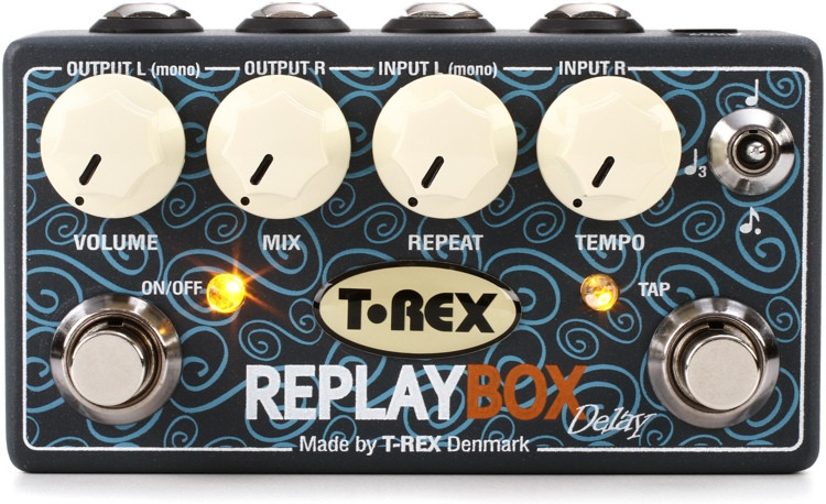 T-Rex Replay Box Stereo Delay Pedal image 1