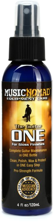MusicNomad The Guitar One - All in 1 Cleaner, Polish & Wax - 4 fl oz Bottle image 1