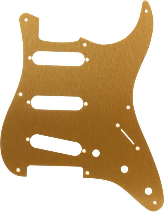 Fender 57 Strat Pickguard - Gold Anodized image 1