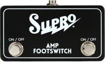 Supro SF2 Tremolo and Reverb Footswitch