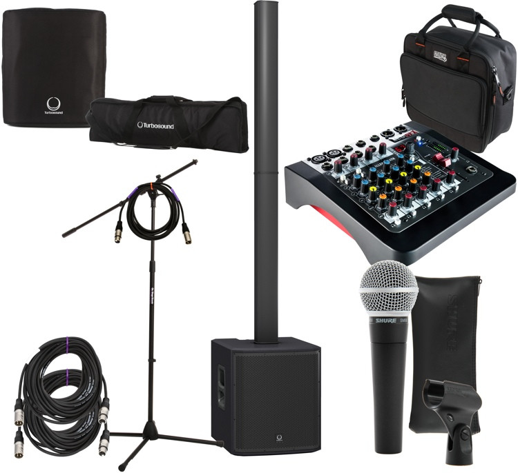 iP2000 Stage Pack with ZED-6FX Mixer