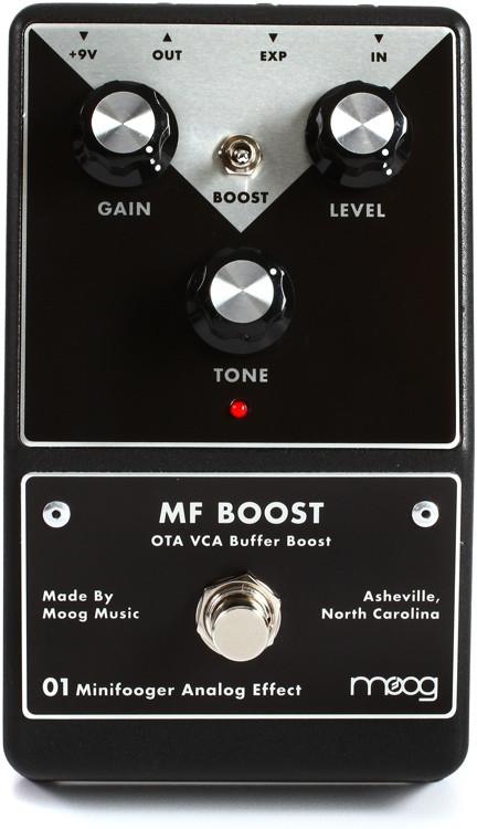 Moog Minifooger Boost Pedal image 1
