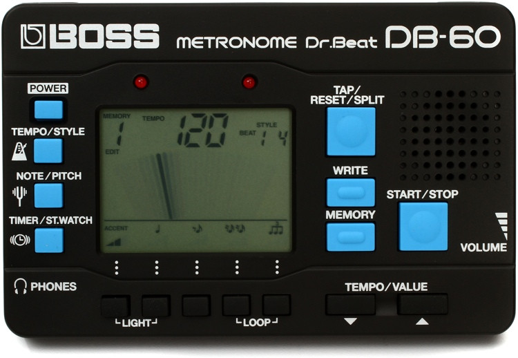 Boss DB-60 Dr. Beat Metronome w/Patterns image 1