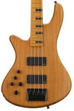Schecter Stiletto Session, Left-handed - Aged Natural Satin