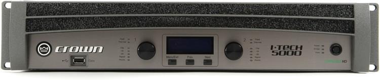 Crown I-Tech 5000HD Power Amplifier image 1