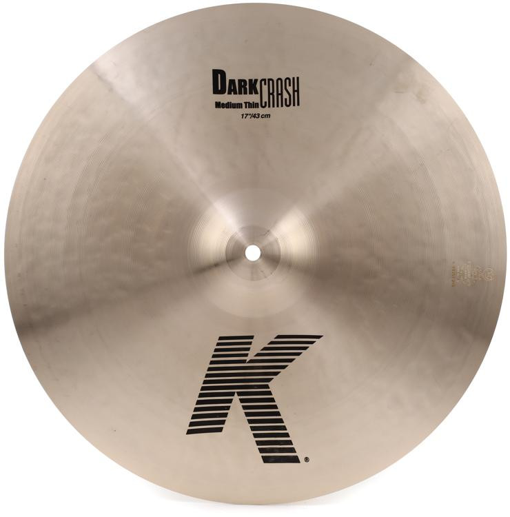 Zildjian K Dark Medium Thin Crash - 17