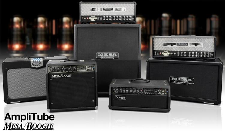 IK Multimedia AmpliTube 4 and Mesa/Boogie Software Bundle image 1
