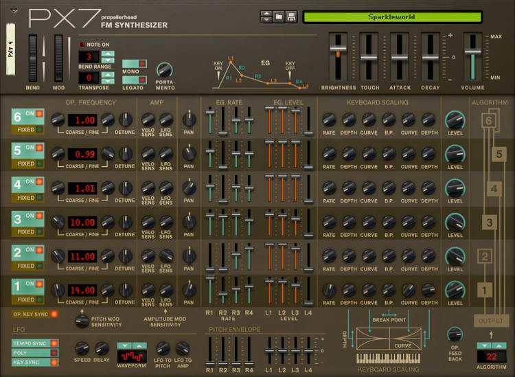 Propellerhead PX7 Rack Extension for Reason image 1