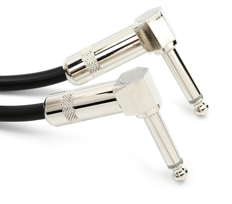 StageMASTER .5\' Guitar Cable - 6 Inch Angle-Angle image 1