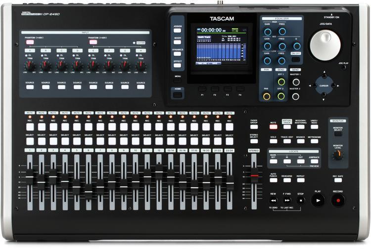 TASCAM DP-24SD 24-track Digital Portastudio image 1