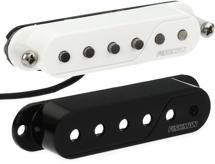 Fishman Fluence Single Width Pickup - Both Black and White Cap