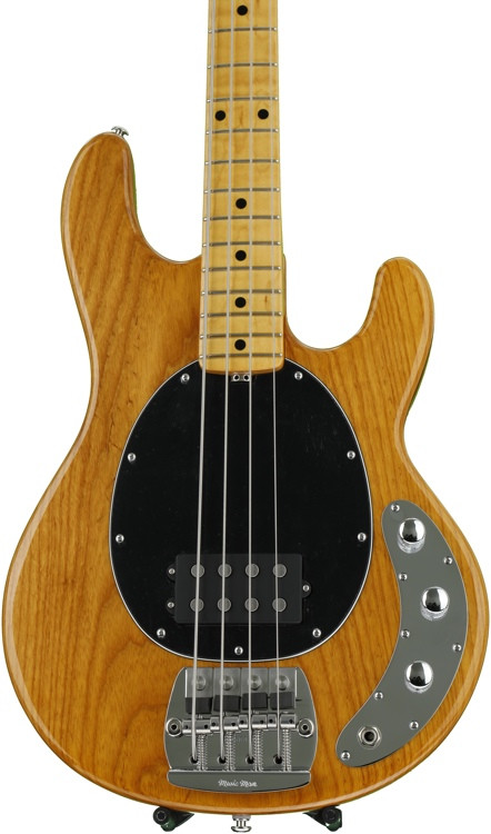 ernie ball music man stingray 4 classic natural sweetwater. Black Bedroom Furniture Sets. Home Design Ideas