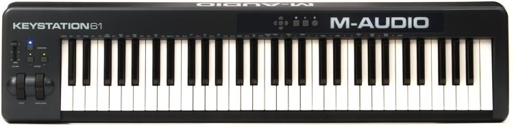 M-Audio Keystation 61 Keyboard Controller image 1