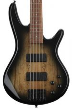 Ibanez GSR205SMNGT GIO - Spalted Maple Top Natural Grey Burst
