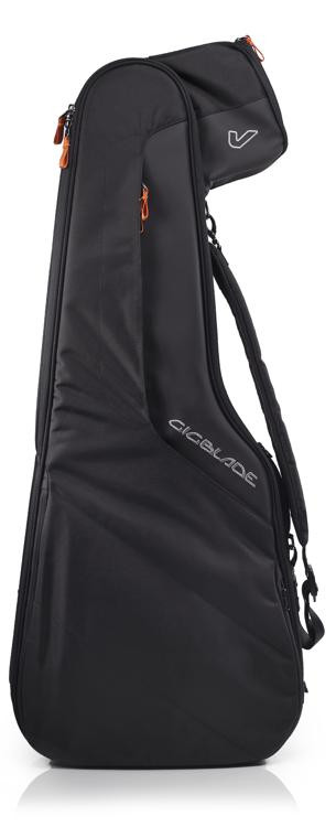 Gruv Gear GigBlade Side-carry Hybrid Gig Bag for Semi-Hollowbody Guitar - Black image 1