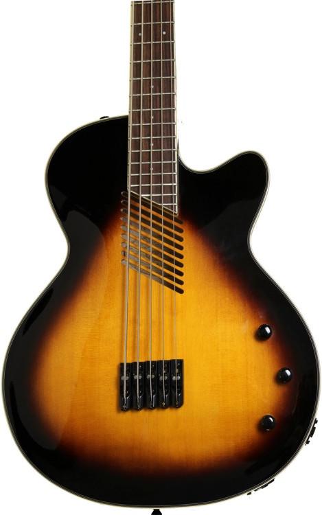 washburn ab45vsk cutaway acoustic 5 string bass vintage sunburst sweetwater. Black Bedroom Furniture Sets. Home Design Ideas