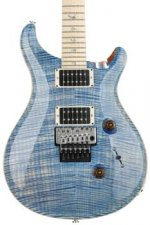PRS Custom 24 Floyd Rose Artist Package - Faded Bluejean with Pattern Thin Neck
