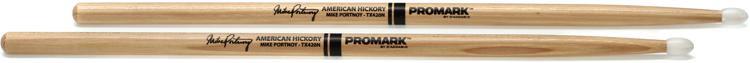 Promark Hickory 420 Mike Portnoy Nylon Tip image 1