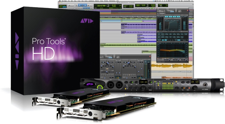 Avid Pro Tools Hdx2 Hd Omni Sweetwater border=