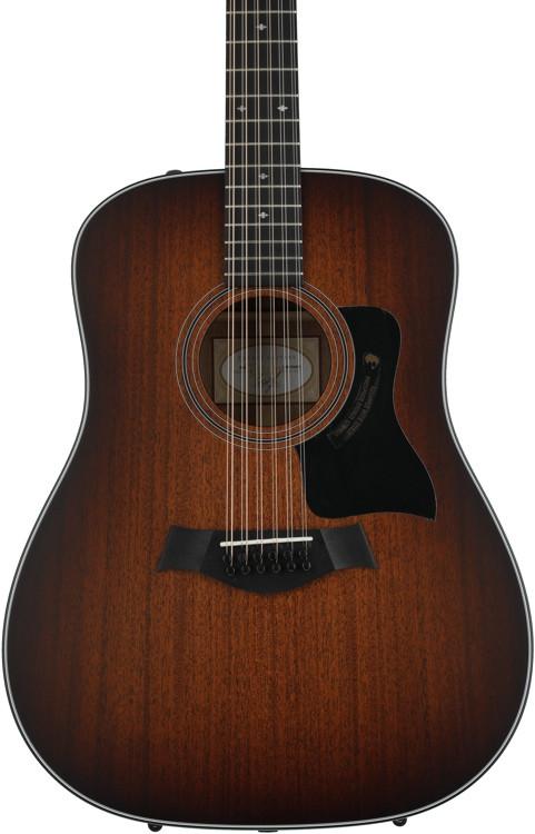 Taylor 360e 12-string - Shaded Edgeburst, Tasmanian Blackwood back and sides image 1