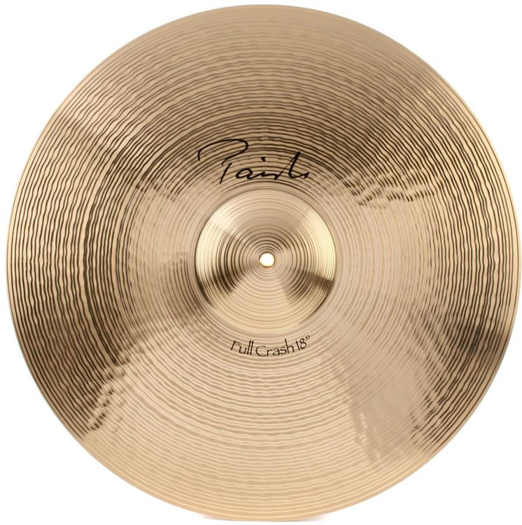 paiste 18 signature full crash cymbal sweetwater. Black Bedroom Furniture Sets. Home Design Ideas