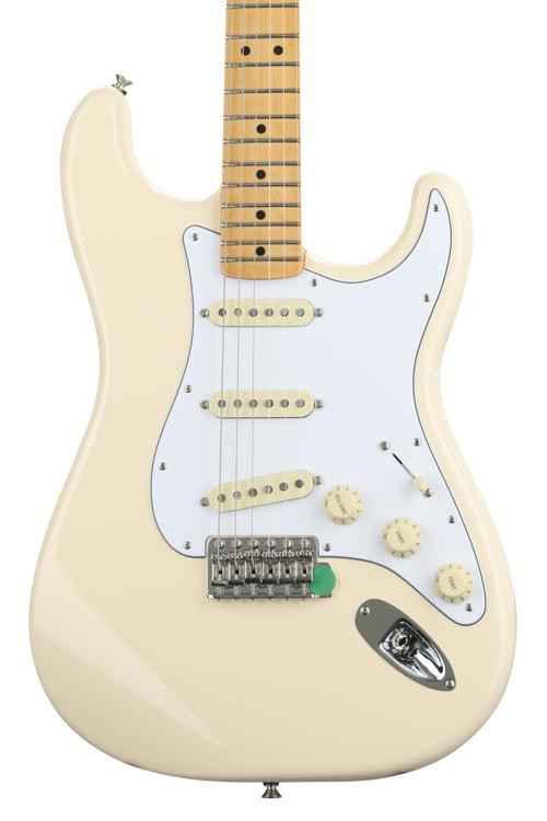 Fender Jimi Hendrix Stratocaster - Olympic White with Maple Fingerboard image 1