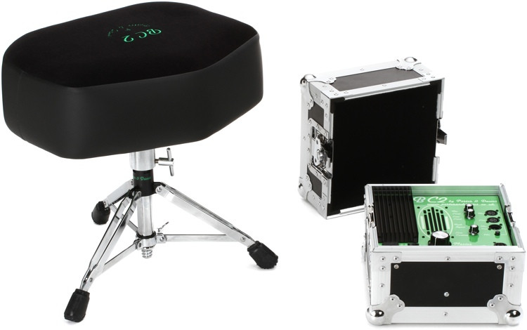 Porter & Davies BC2 Drum Throne - Extra-wide Seat with Base image 1