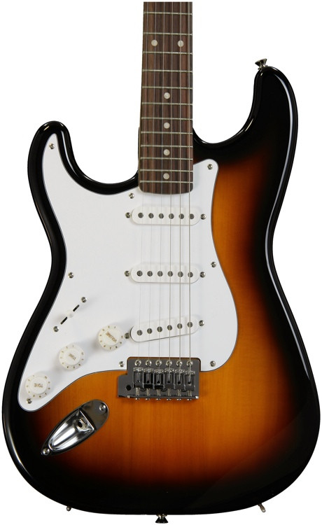 Squier Affinity Stratocaster Left-handed - Brown Sunburst with Rosewood Fingerboard image 1