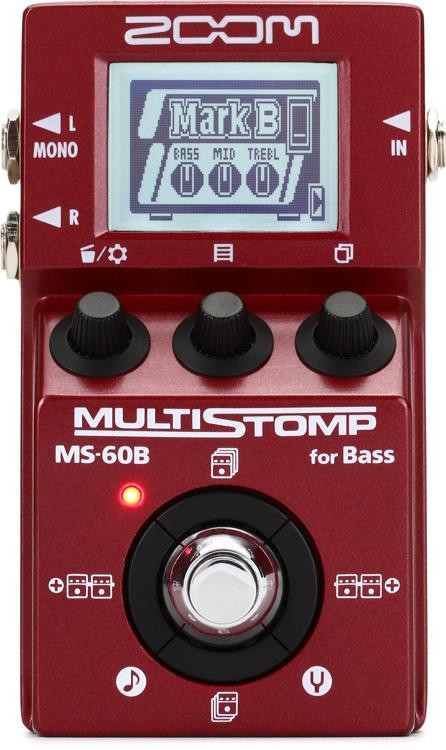 Zoom MS-60B Multistomp Bass Effects Pedal image 1