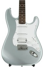 Squier Affinity Stratocaster HSS - Slick Silver with Rosewood Fingerboard